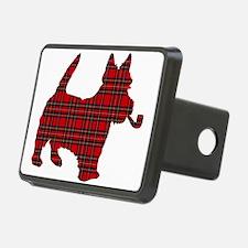 Scottish Terrier Tartan Hitch Cover