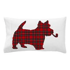 Scottish Terrier Tartan Pillow Case