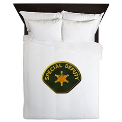 Orange County Special Deputy Sheriff Queen Duvet