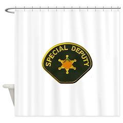 Orange County Special Deputy Sheriff Shower Curtai