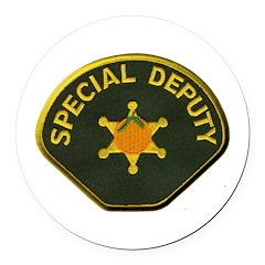 Orange County Special Deputy Sheriff Round Car Mag