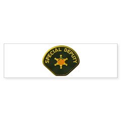 Orange County Special Deputy Sheriff Bumper Sticke
