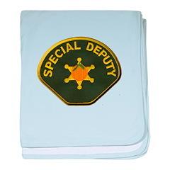 Orange County Special Deputy Sheriff baby blanket