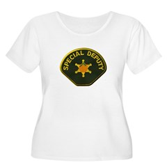 Orange County Special Deputy Sheriff Plus Size T-S
