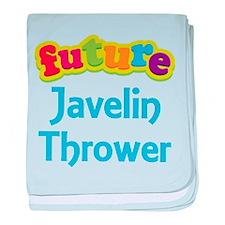 Future Javelin Thrower baby blanket