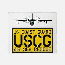 USCG Albatros Throw Blanket