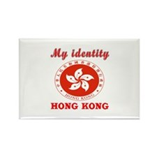 My Identity Hong Kong Rectangle Magnet