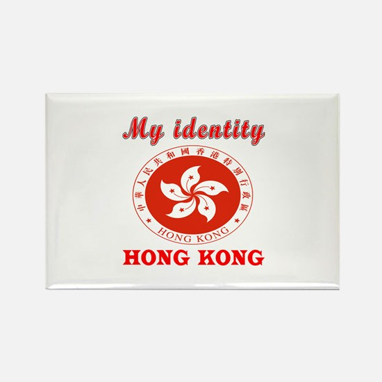 My Identity Hong Kong Rectangle Magnet