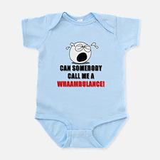 WHAAMBULANCE Baby Shirt Body Suit