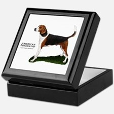 American Foxhound Keepsake Box