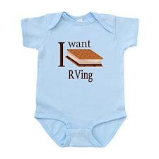 Smore RVing Infant Bodysuit