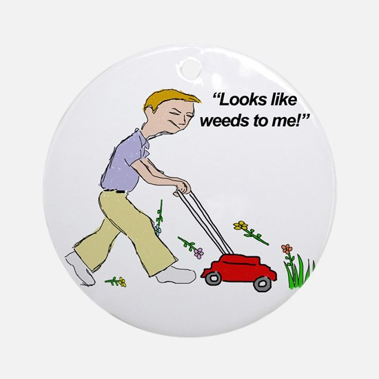 Weeds Ornament (Round)