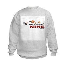Nine planets Sweatshirt