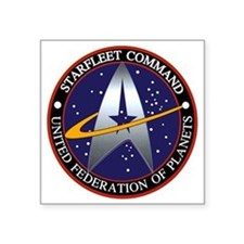 Starfleet Command Logo Sticker