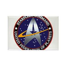 Starfleet Command Logo Rectangle Magnet