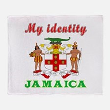 My Identity Jamaica Throw Blanket