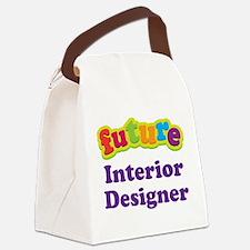 Future Interior Designer Canvas Lunch Bag