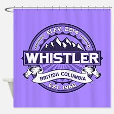 Whistler Violet Shower Curtain