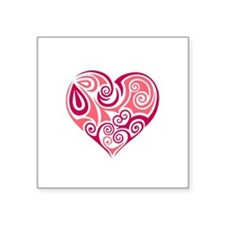 valentine heart Sticker