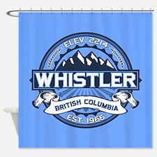 Whistler Blue Shower Curtain