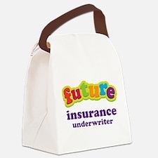 Future Insurance Underwriter Canvas Lunch Bag