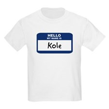 Hello: Kole Kids T-Shirt
