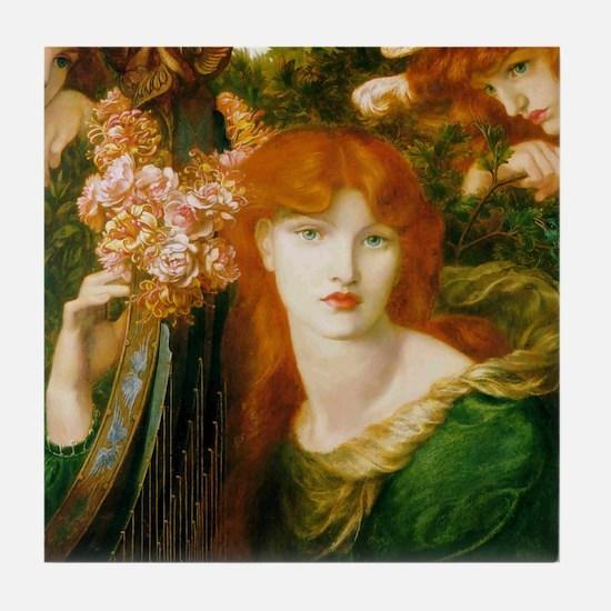 Ghirlandata by Rossetti Tile Coaster