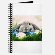 bunny and eggs Journal