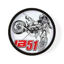 JB51bike Wall Clock