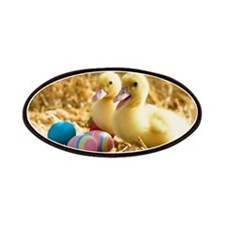 baby ducks and eggs Patches