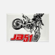 JB51bike Rectangle Magnet