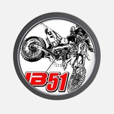 JB51bike Wall Clock