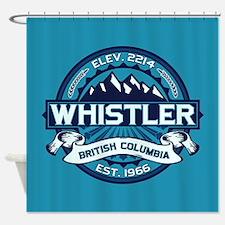 Whistler Ice Shower Curtain