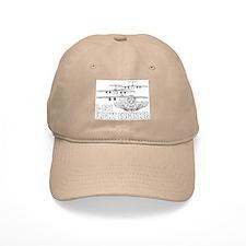 C-141 Flight Engineer.png Baseball Baseball Cap