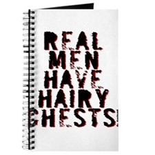 Real Men Have Hairy Chests Journal