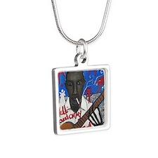 Robert Johnson Silver Square Necklace