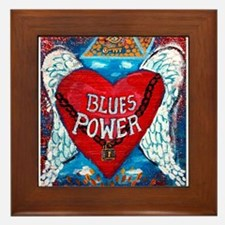 Blues Power Framed Tile