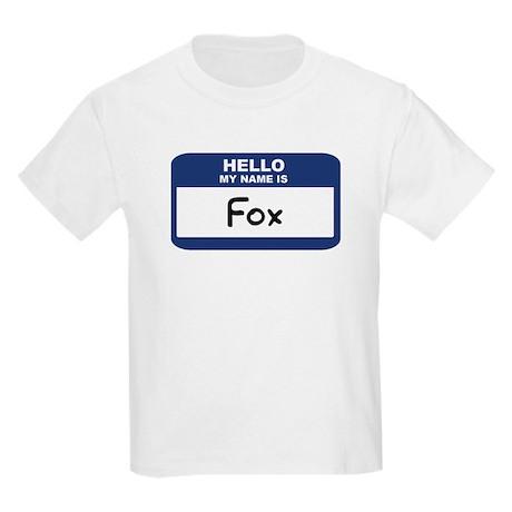 Hello: Fox Kids T-Shirt