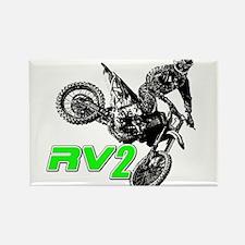 RV2bike2 Rectangle Magnet