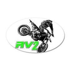 RV2bike2 Wall Decal
