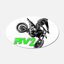 RV2bike2 Wall Decal