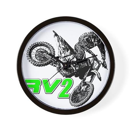 RV2bike2 Wall Clock