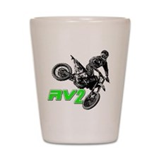 RV2bike2 Shot Glass