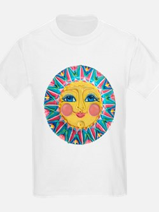 Sun face - Spring T-Shirt