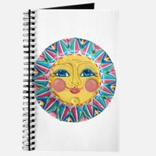 Sun face - Spring Journal