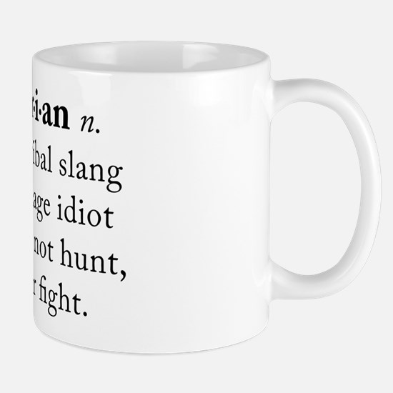 Vegetarian definition Mug