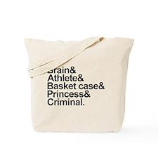 Breakfast Club Ampersand Tote Bag