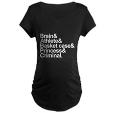 Breakfast Club Ampersand Maternity T-Shirt