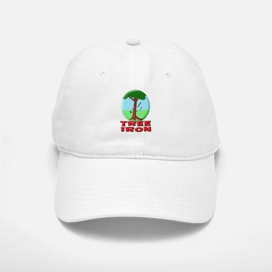Tree Iron Baseball Baseball Cap