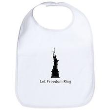 Miss Liberty Bib